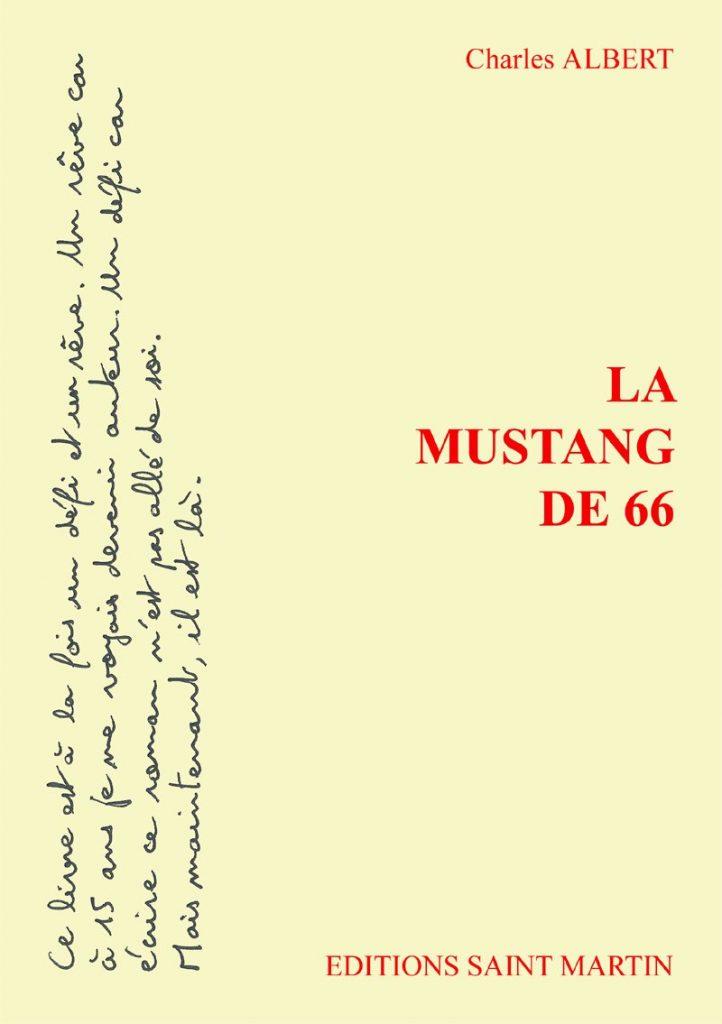 couv La Mustang de 66 - Charles Albert